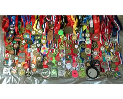100 medals of Luke Bremmer