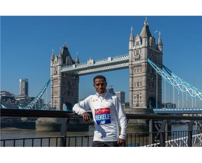 Bekele London Bridge