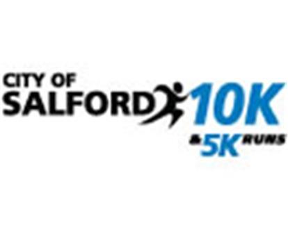 City of Salford 10k / 5k Run Logo