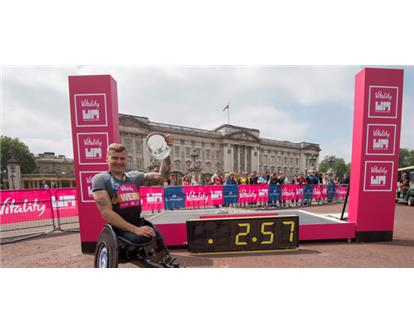 David Weir three minute mile
