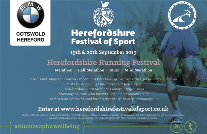 Herefordshire festival of sport