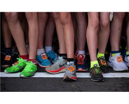 teenage feet