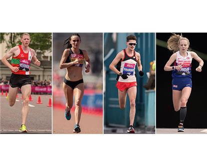 British athletes 2019 London Marathon