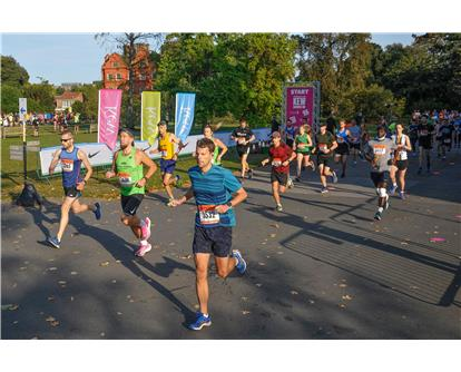 Kew 10k starting staggered 2020