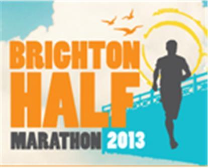Brighton Half Marathon Logo 2013