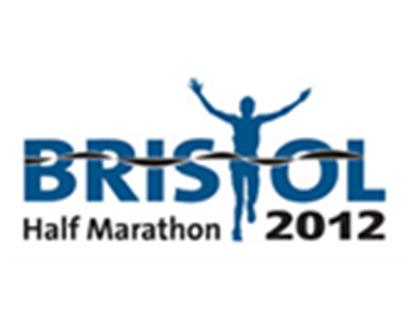 The logo for the 2012 Bristol Half Marathon