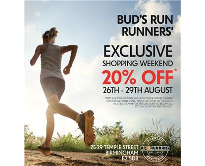 Bud's Run Up and Running
