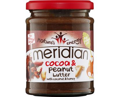 cocoa and peanut meridian butter