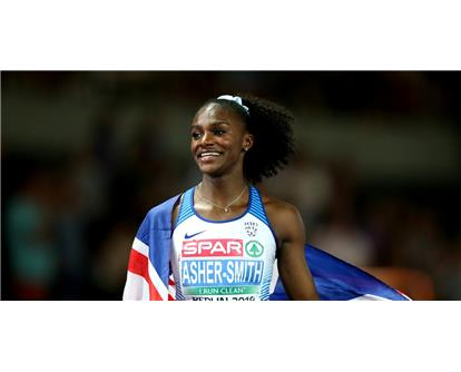 Dina asher smith smile