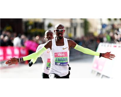 mo farah Big half win