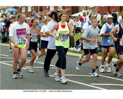 BUPA Great North Run places still available