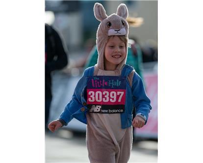 bunny child running