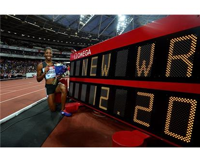 British Athletics KH world record shot 100mh 12-20