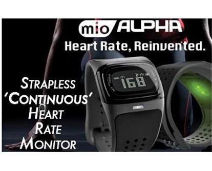 Strapless Continuous Performance Heart Rate Monitor