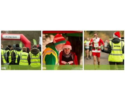 Osterley Park 10k volunteer