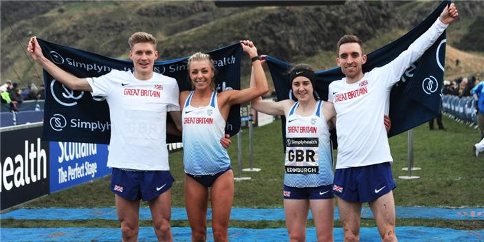 xc winning team at Edin 2018
