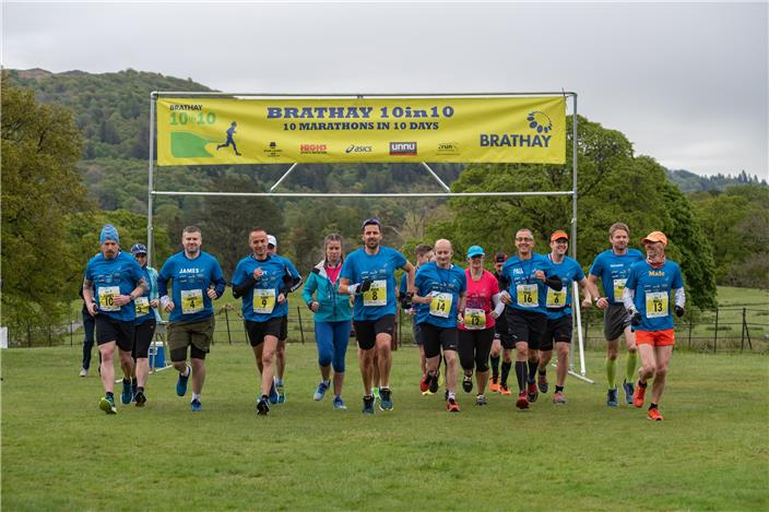 runners start at Brathay