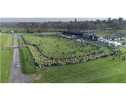aerial running shot schools run