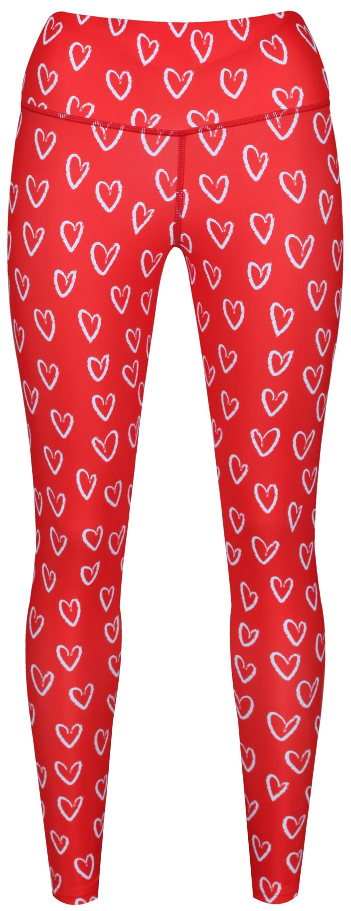 sweet heart leggings tikiboo