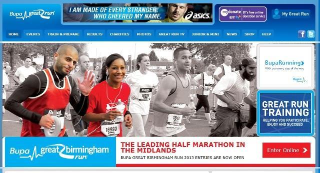 Bupa Great Birmingham Run