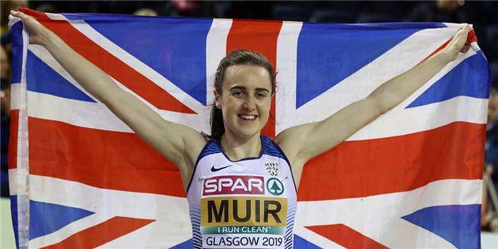 Laura Muir Glasgow 2019