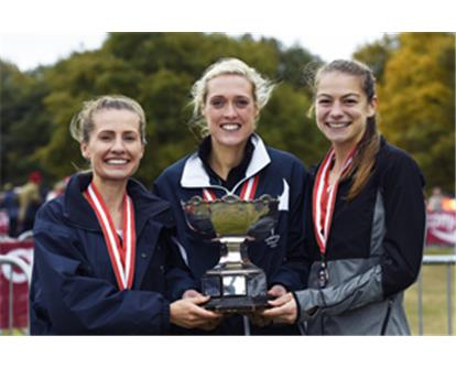 Tonbridge women XC relay
